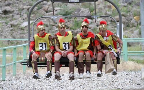 Les Romains...