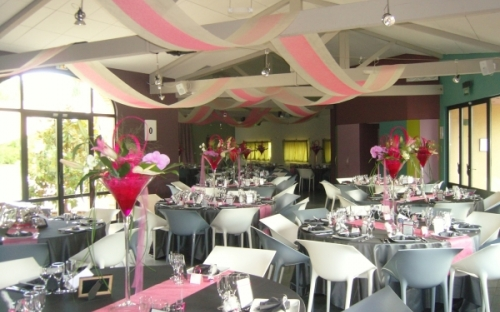 Salle de Mariage au Chateau Touny les Roses