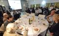 Repas de fête à la soirée de l'association d'Albi
