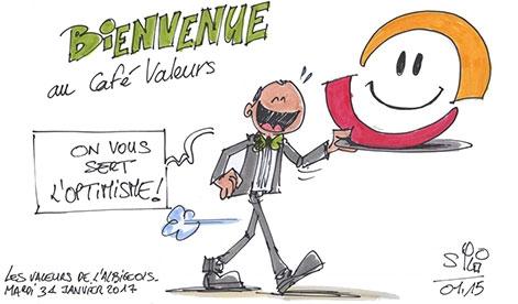 6ème Café Valeur : Je kiffe Albi, je croque l'optimisme !