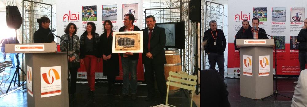 Remise du Trophée des VA 2012 à Manuel Bernal